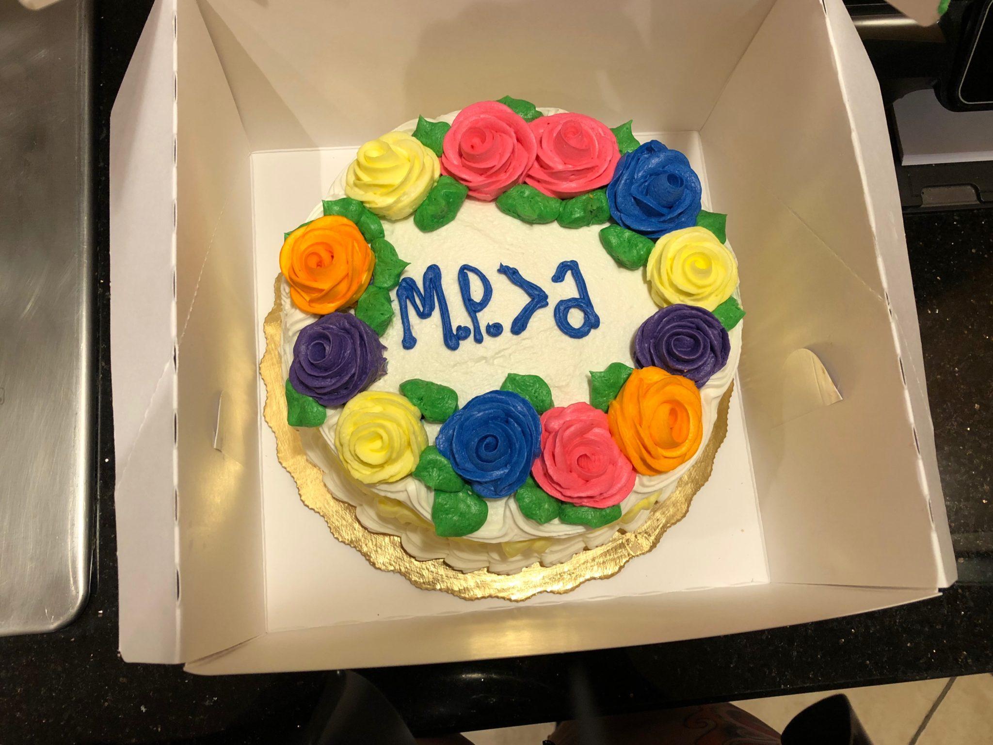 slave gives Mistress Pomf a cake to sit on
