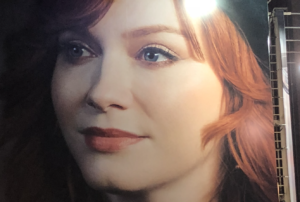 The chin dimple of Christina Hendricks. (As though she couldn't get sexier!)
